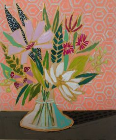 Lulie Wallace: Image of 20x24 Flowers for Sadie