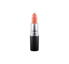 MAC Strength Lipstick - a peachy brown with shimmer color worn by Dominique Sachse. The iconic product that made M·A·C famous....