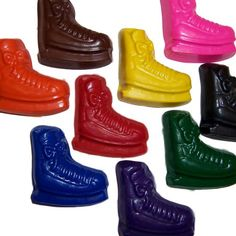 Skate Crayons - Wonderful gift idea for fellow skaters! the item has been discontinued, shame.
