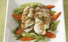 Steamed Asian-style Fish. Simple, healthy, tasty, and vibrant - a go-to for weeknights and entertaining alike.