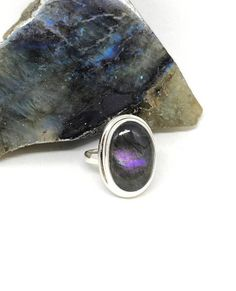 Your place to buy and sell all things handmade Handmade Sterling Silver, Sterling Silver Jewelry, Sailors, Labradorite, Mystic, Shells, Gemstone Rings, Gemstones, Crystals