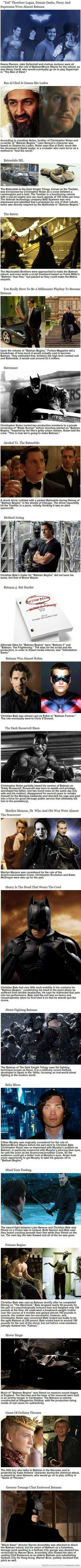 Interesting Facts About Batman