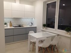 New kitchen open modern gray cabinets ideas Kitchen Room Design, Best Kitchen Designs, Modern Kitchen Design, Interior Design Kitchen, Room Kitchen, Modern Design, Kitchen Floor Plans, Kitchen Flooring, Glass Kitchen Cabinet Doors