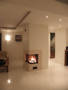 kominek narożny ceny - Szukaj w Google Fire, Places, Google, Home Decor, Trendy Tree, Drawing Rooms, Decoration Home, Room Decor, Interior Design