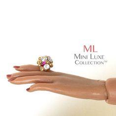 Fashion Royalty Doll Ring  OOAK  Fashion Doll Jewelry