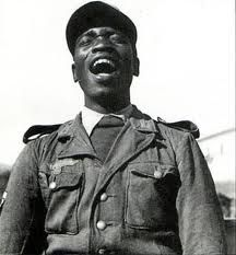 """Hans Hauck was an Afro-German (""""Rhineland Bastard"""") survivor of the Nazi regime in Germany. During 1935 or 1936 Hauck was sterilized under Nazi racial purity measures. In 1939 he was declared """"unworthy"""" to join the Army when he went through the conscription process, however a friend of the family got him in. He attributed his survival of the Nazi regime to his service in the Army. He made """"Private first Class"""" within five months. Hauck was wounded five times."""