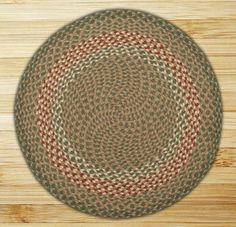 Earth Rugs Round Area Rug 4 GreenBurgundy ** Check this awesome product by going to the link at the image.