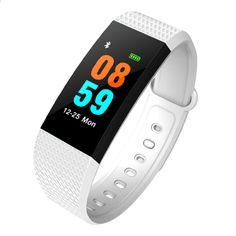 i9 Smart armbåndsfarve skærm Heart Rate Tracker armbånd IP68 Vandtæt blodtryk smart ur