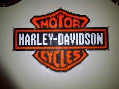 HDMC logo perler beads by Tiffany Sheaffer