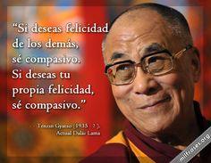 Dalái Lama: La felicidad se encuentra en la compasión