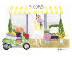 #ridecolorfully to your local flower shop and pick out a huge bouquet for yourself - because you are worth it
