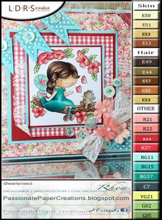 Passionate Paper Creations: Blossom Daisy - LDRS creative