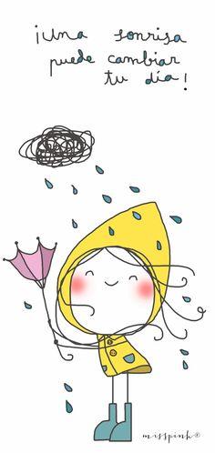 misspink: Sonríe! :)  ¡ Una sonrisa puede cambiar tu dia !
