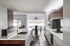 Minosa Design: Kitchen Design connecting space - The modern living room?