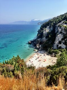 Beautiful Cala Fuili at Cala Gonone, Sardinia, Italy