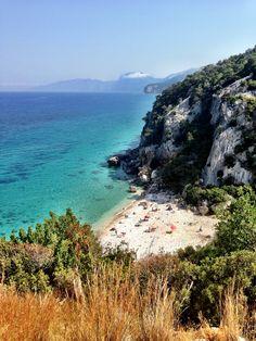 Beautiful Cala Fuili at Cala Gonone, Sardinia, Italy