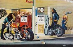 David Mann - Gas stop