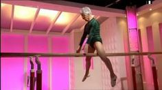 86 Year Old Woman's #Gymnastic Performance - #amazing