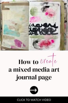 In this video, Roben-Marie Smith is sharing a flip through of the first ten days of The 100 Day Project and answers questions she has received about the art papers she has created. She is also taking one art paper and using it to create an art journal page in her Salvaged Journal. Come along and be inspired!! Collage Video, Collage Art, Art Journal Pages, Art Journaling, Tea Bag Art, Art Journal Techniques, Process Art, Mix Media, Art Journal Inspiration