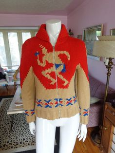 RARE 1950's Warrior Chief Dancing Native by Atomicblondevintage