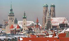 Munich in winter