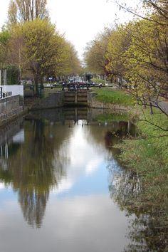 Grand Canal Dublin .