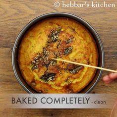 handvo recipe | how to make gujarati handvo recipe | mixed dal handvo Baby Food Recipes, Indian Food Recipes, Gourmet Recipes, Healthy Recipes, Ethnic Recipes, Yogurt Curry, Gujarati Cuisine, Dhokla Recipe, Vegetable Cake