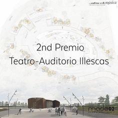 Estudio de Arquitectura made02. 2nd Premio Concurso de Ideas para edificio destinado a Teatro - Auditorio Municipal de Illescas. www.made02.com