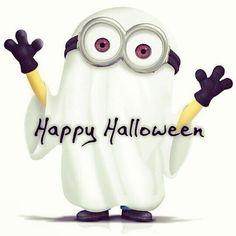 Minion Halloween, Cute Halloween Makeup, Halloween Cartoons, Halloween Ghosts, Holidays Halloween, Halloween Crafts, Happy Halloween, Halloween Stuff, Ghost Hug
