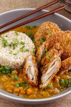 I Love Food, Good Food, Yummy Food, Chicken Katsu Curry Recipes, Recipe Chicken, Asian Recipes, Healthy Recipes, Aesthetic Food, Food Cravings