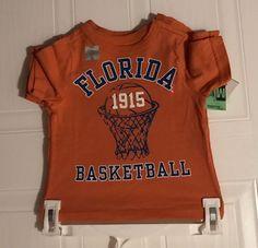 Florida Gators Toddler Basketball Shirt.  Size 12 Months.    NWOT #UniversityT #FloridaGators