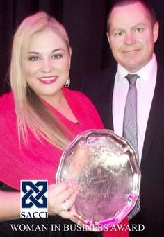 South African chamber of commerce and industry business awards - business woman of the year winner