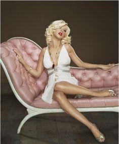 Christina Aguilera 2006 Jill Greenberg Advocate Photoshoot