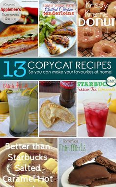 Make Your Favourite Restaurant Meals at Home – 13 Copycat Recipes