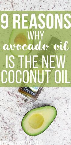 I love coconut oil, but lately I've been sensing a trend. Avocado oil is quickly replacing coconut oil as the best oil to use- it's great for skincare, healthy cooking, and more. This list explains a lot of the amazing benefits of avocado oil--I was surprised by number 8!