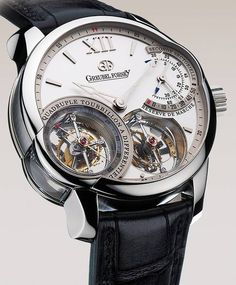The Greubel Forsey Quadruple This is theTour Billon Wrist Watch and costs, wait for it! $1,000,000,000.00 That's One Million dollars. Forget fashion, luxury this is STUPID MONEY!