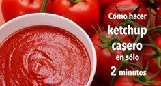 Cómo hacer ketchup casero en sólo 2 minutos