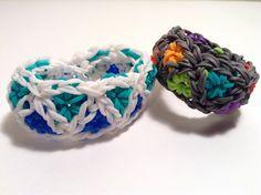 Rainbow Loom Triangle Burst Bracelet tutorial by Epic Bracelets