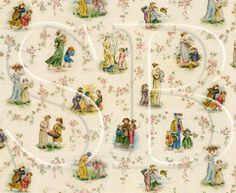 Miniature Wallpapers and Fabrics - Nursery Wallpapers