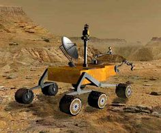 Mars Science Laboratory is a long-range, long-duration, roving mobile laboratory. http://www.aerospaceguide.net/mars/science_laboratory.html #curiosity #red #planet #mars