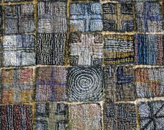 Cross My Heart detail  - Judy's Journal: hand stitching