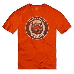 Detroit Tigers Scrum Logo T-Shirt by '47 Brand