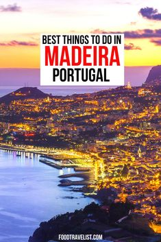 Get away from the larger cities of Lisbon and Porto and escape to Madeira. A quick plane ride will have you basking in the sun, eating delicious foods and taking an adventure in Madeira. #VisitMadeira #Madeira #Portugal #TravelTips