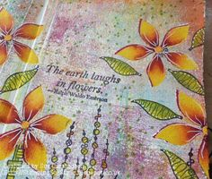 Stamps and Stencils : Journalling with Frescos !