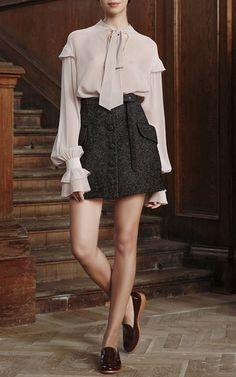 Ulyana Sergeenko Demi Couture - blouse + skirt