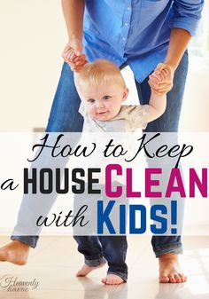 Why does it always seem impossible to keep a house clean with kids? I think I might just have the magical solution and you'll be surprised at what it is!