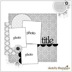 3 pics layout