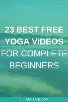 Spring is the perfect time to start something new - so why not start yoga at home? In this post you'll discover 23 amazing FREE yoga videos for beginners that'll inspire you to start yoga at home. These free beginner yoga videos range from under 15 minutes to 60 minutes - and are suitable for absolutely everyone!