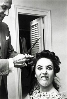 """Elizabeth Taylor photographed by her friend Roddy McDowall in the 1960s. McDowall wrote on the photo """"This is the true Elizabeth Taylor!"""""""