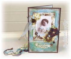 stempelglede Vintage Cards, Scrapbooking, Stamp, Gallery, Blog, Handmade, Inspiration, Image, Design
